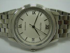 流當品拍賣 原裝 EPOS 愛寶時 不鏽鋼 自動 後簍空 男錶
