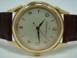 流當品拍賣 ETERNA MATIC 琦年華 18K 玫瑰金 自動 男錶