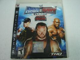PS3 SmackDown VS. Raw 2008 9成5新 特價700含郵