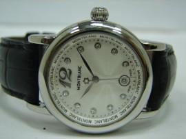 流當品拍賣 原裝 MONTBLANC 萬寶龍 star系列 鑽石刻度面盤 女錶 9成新