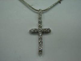 流當品拍賣 造型 十字架 K金 鑽墬