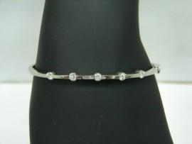 流當品拍賣 專櫃精品 52分G色 K金鑽石手環